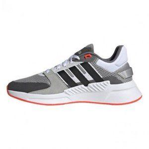 Shoes Adidas Man RUN90S Running Red Cloudfoam Spor